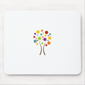 Spectra tree mouse pad