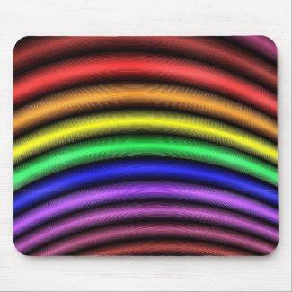 'Spectral Arc' mousepad mousepad
