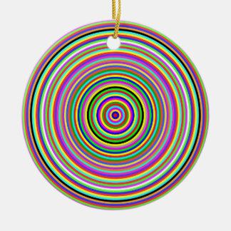 spectral circles 5000 ceramic ornament