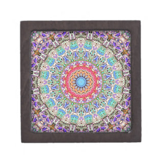 Spectral Concentric Pattern Premium Jewelry Boxes