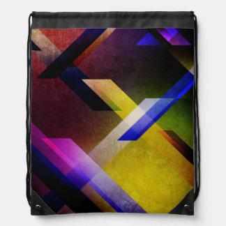 Spectral Design Drawstring Backpack