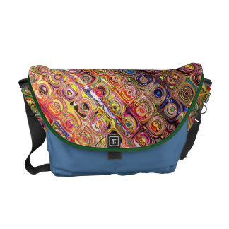 Spectral Glass Beads Courier Bag