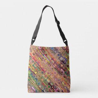Spectral Glass Beads Crossbody Bag