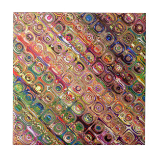 Spectral Glass Beads Tile
