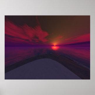 Spectral Horizon Poster