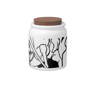 Spectral Knight Candy Jar