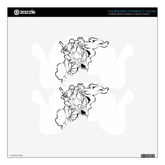 Spectral Knight PS3 Controller Decals