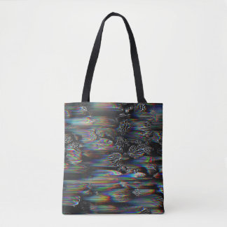 Spectral Plant Leaves Tote Bag