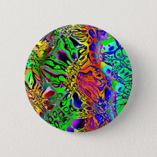 Spectral Shapes Abstract Pinback Button