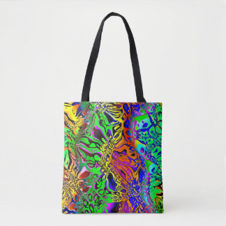 Spectral Shapes Abstract Tote Bag