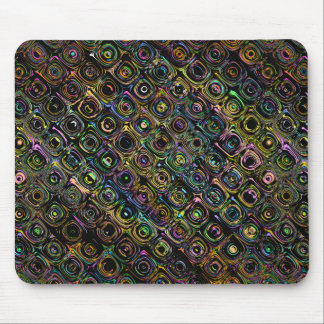 Spectral Shapes Pattern Mouse Pad