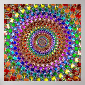 'Spectral Spiral' Poster