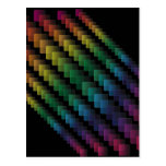 Spectral Squares Postcard
