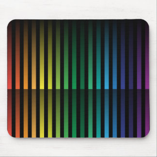 Spectral Strips Mouse Pad