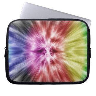 Spectral Tie Dye Laptop Sleeve
