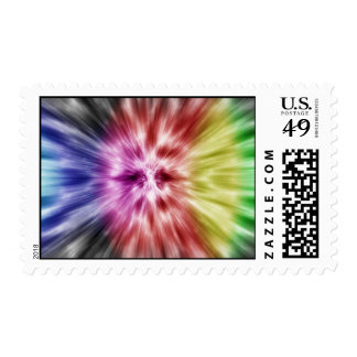 Spectral Tie Dye Stamp