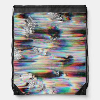 Spectral Wind Erosion Drawstring Bag