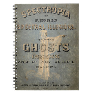 Spectropia - A Study of Ghosts - 1866 Notebook