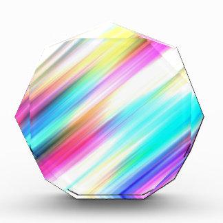 SPECTRUM ( a rainbow colored delight!) ~ Acrylic Award