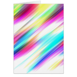 SPECTRUM ( a rainbow colored delight!) ~ Card
