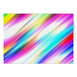 SPECTRUM ( a rainbow colored delight!) ~ Greeting Card