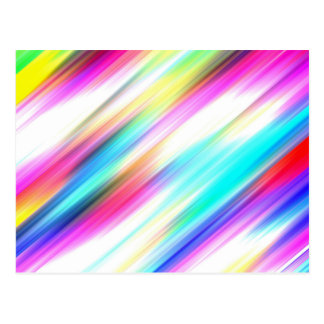 SPECTRUM ( a rainbow colored delight!) ~ Postcard