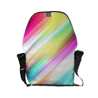 SPECTRUM ( a rainbow colored delight!) ~ Small Messenger Bag