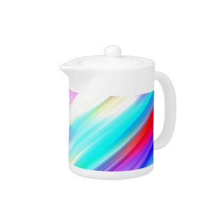 SPECTRUM ( a rainbow colored delight!) ~ Teapot