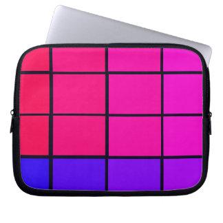 Spectrum Colorful 12 Zipper Soft Laptop iPad Case Laptop Sleeves