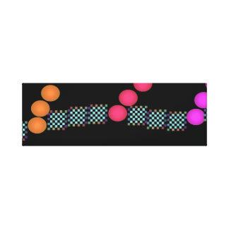 Spectrum Colors Colorful Artwork Modernist Pop Art Canvas Prints