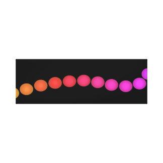 Spectrum Colors Colorful Artwork Modernist Pop Art Gallery Wrap Canvas