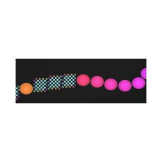 Spectrum Colors Colorful Artwork Modernist Pop Art Stretched Canvas Prints