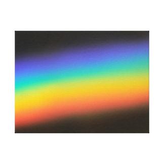 Spectrum Colors l Gallery Wrap Canvas
