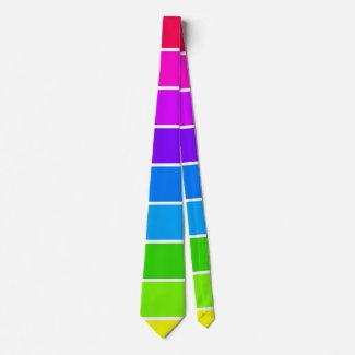 Spectrum Colorwheel Pop Art Rainbow CricketDiane Tie
