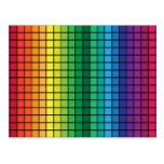 Spectrum Cubes Postcard