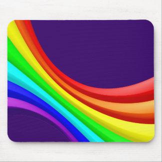 Spectrum Curve 3d - Deep Purple 330066 Mouse Pad