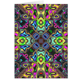 Spectrum of Abstract Shapes Card