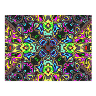 Spectrum of Abstract Shapes Postcard