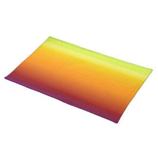 Spectrum of Horizontal Colors -3 Place Mat