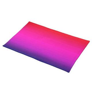 Spectrum of Horizontal Colors - 4 Placemats
