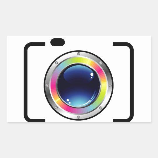 Spectrum Photography Rectangular Sticker