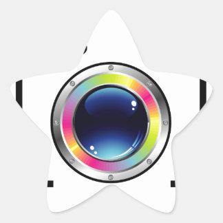 Spectrum Photography Star Sticker
