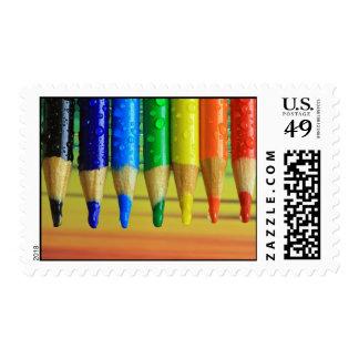 spectrum postage stamp