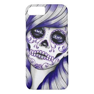Spectrum Series - Violet Sugar Skull Girl iPhone 8/7 Case