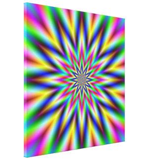 Spectrum Star Canvas Print