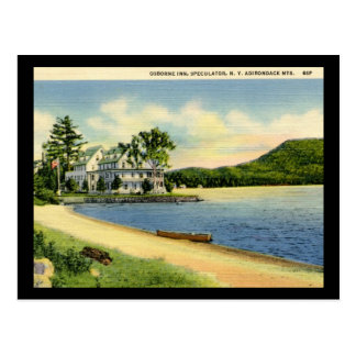 Speculator, New York Vintage Postcard
