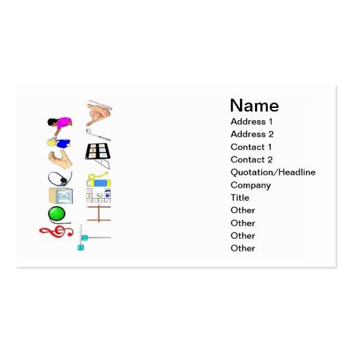 Speech at Work Business Card