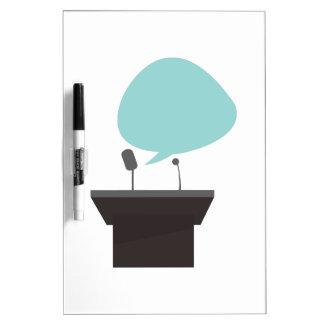 Speech_Base Dry-Erase Board