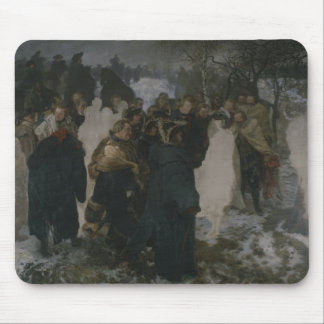 Speech before the Battle of Leuthen, 1858 Mouse Pad