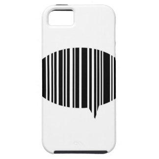 Speech bubble bar code iPhone SE/5/5s case